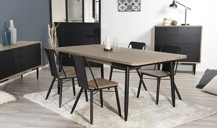 table salle a manger acacia