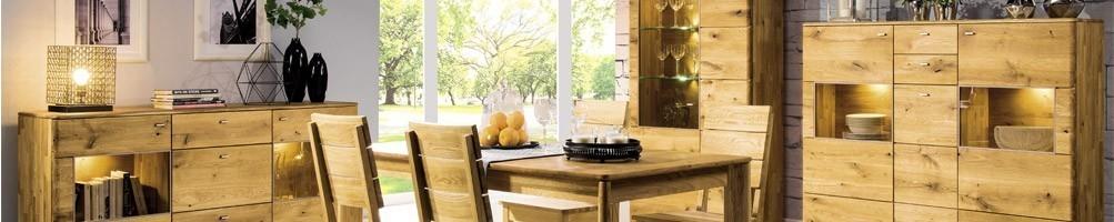 meuble en bois massif design et pas