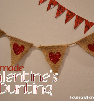 Valentines Bunting with Free Pattern!
