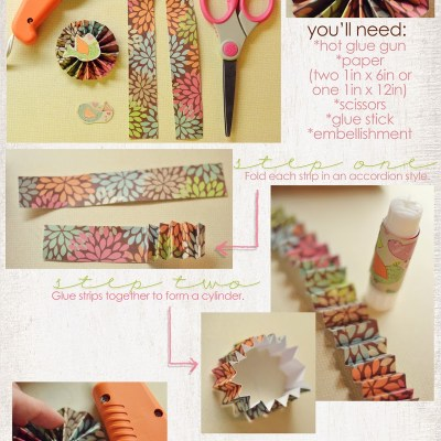 Starburst paper craft tutorial!