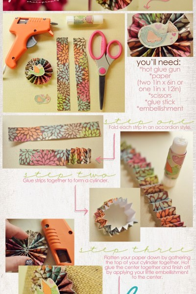 Starburst paper craft tutorial!