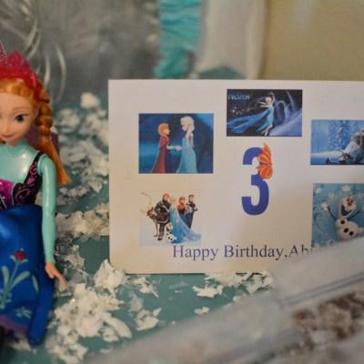 Abigail's 3rd Birthday!