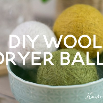 DIY Wool Dryer Balls