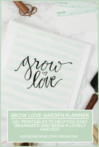 Grow Love Garden Planner