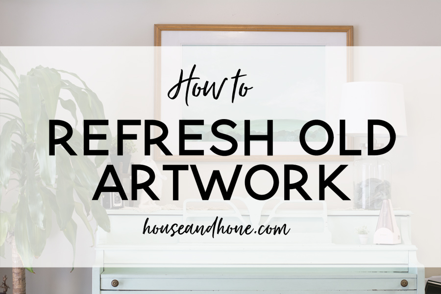 Creating your own artwork | House and Hone Blog