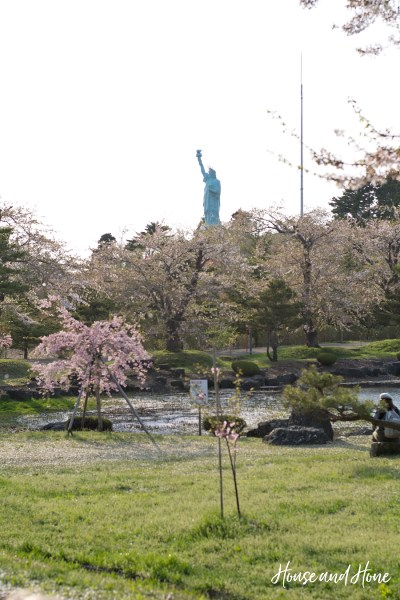 Statute of Liberty Park