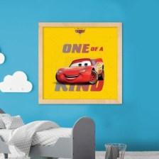 One of a kind, McQueen! Disney Πίνακες σε καμβά 50 x 50 cm