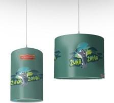 Zuka Zama, Lion Guard Disney Φωτιστικά οροφής Ø 25 x 40 cm