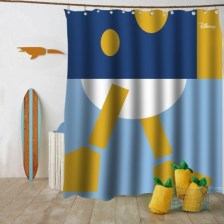 Alternative Donald Duck Disney Κουρτίνες μπάνιου 150 x 180 cm