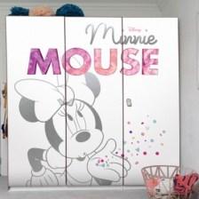Η Minnie στέλνει φιλιά, Mickey Mouse Disney Αυτοκόλλητα ντουλάπας 65 x 185 cm