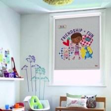 Η φιλία είναι διασκέδαση, Doc MC Sttuffins Disney Ρολοκουρτίνες 106 x 96 cm