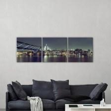 Άγιος Παύλος, Λονδίνο Πόλεις - Ταξίδια Multipanel 150x50 cm