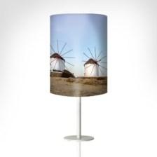 Μύλοι, Μύκονος Διάφορα Επιτραπέζια φωτιστικά Ø 20 x 26cm