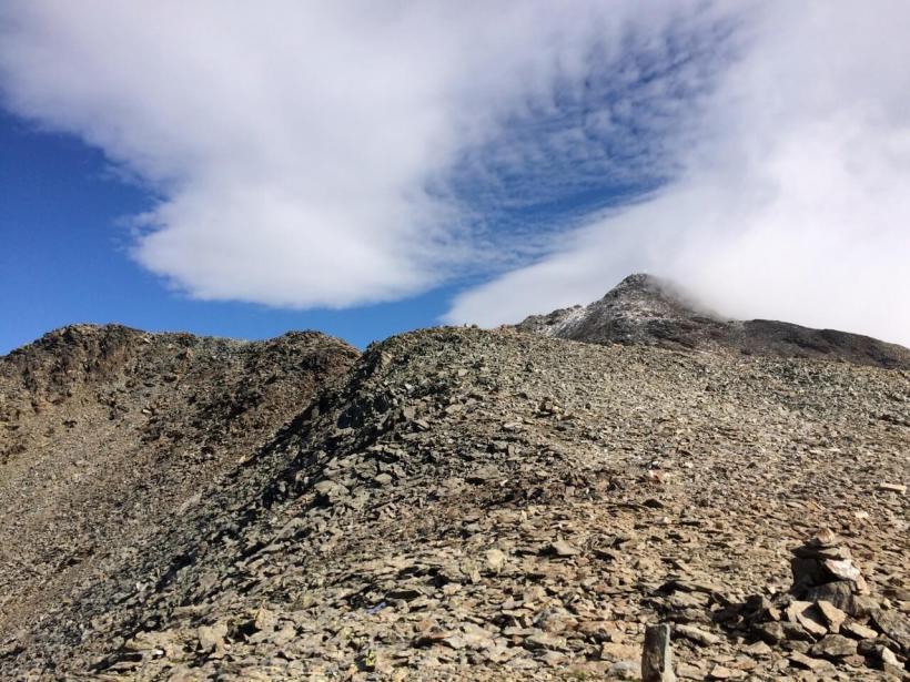 Gipfelplateau Petzeck