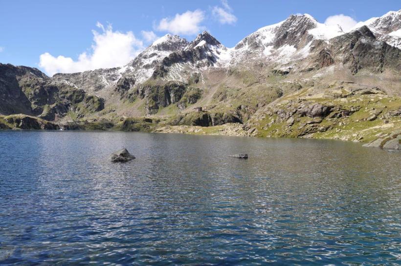 der Wangenitzsee, größter See der Schobergruppe