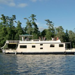 Outdoor Kitchen Oven Floating Cabinets 58′ Houseboat – Adventures Inc