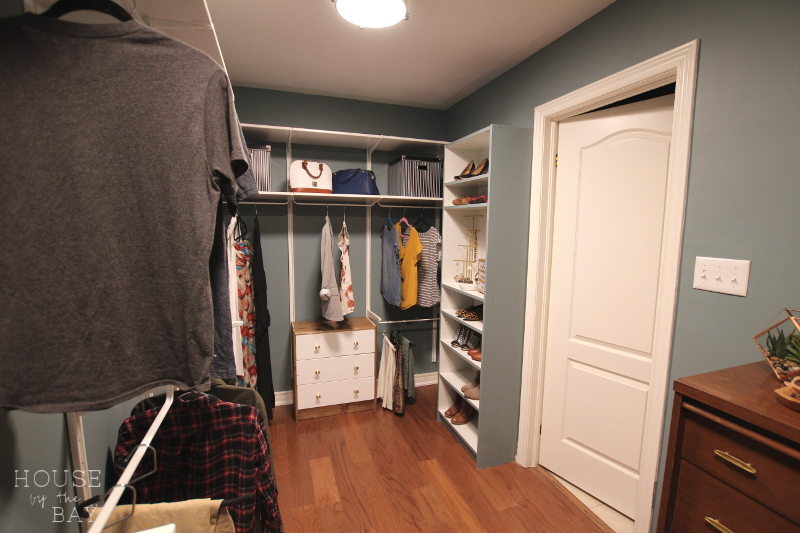 Master Bedroom Walk-Through Closet Reveal   Spring One Room Challenge   House by the Bay