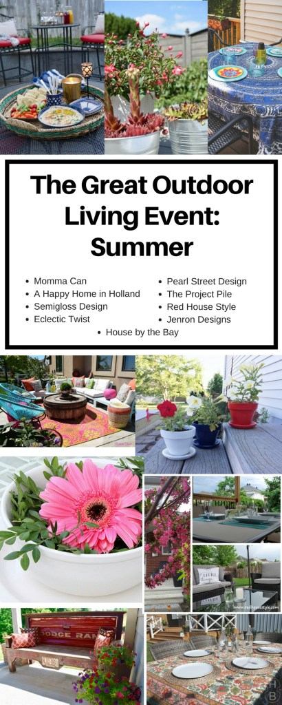 The Great Outdoor Living Event- Summer