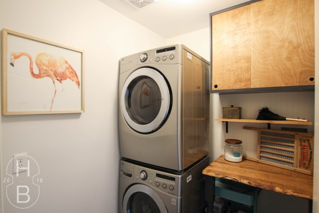 $100 Laundry Room Makeover | House by the Bay Design