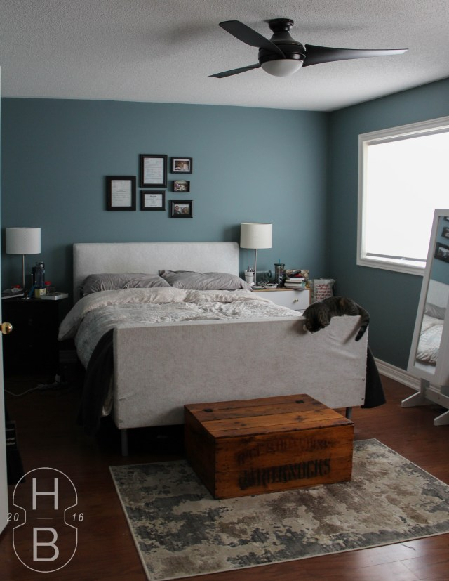 Master Bedroom Before | One Room Challenge | House by the Bay Design