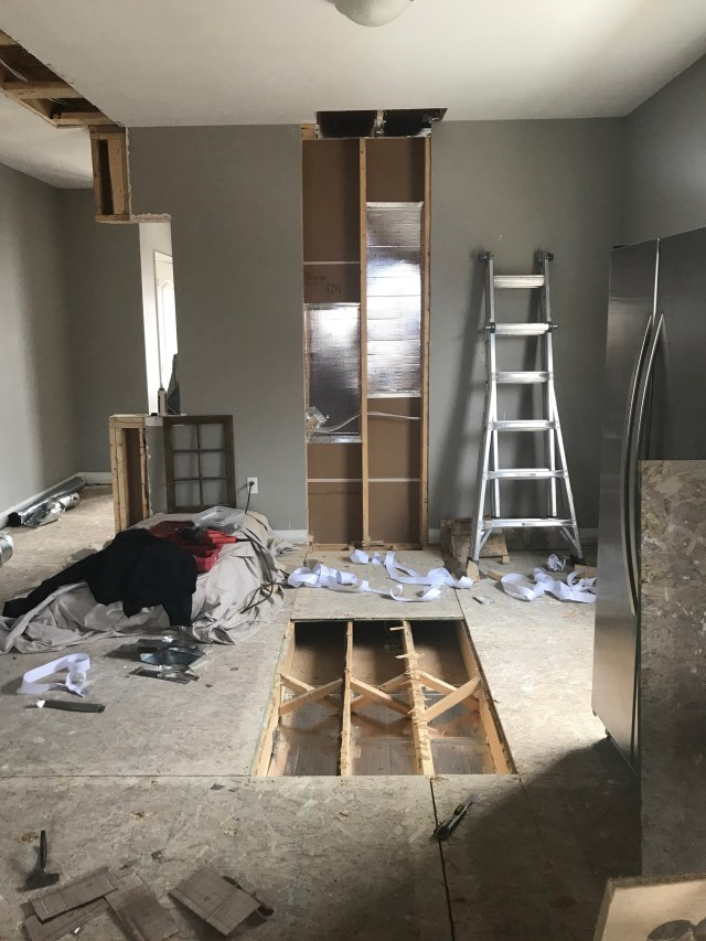 Renovation Diaries - HVAC & Drywall | Kitchen Renovation | House by the Bay Design
