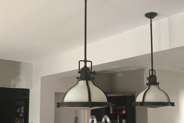 New Kichler Light Fixtures | Kitchen Makeover | One Room Challenge