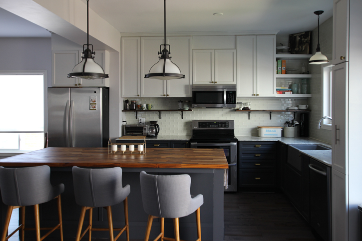 Kitchen Makeover Reveal   Main Floor Renovation   House by the Bay Design