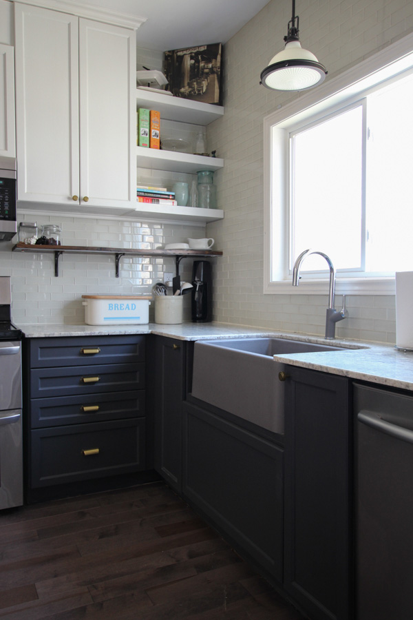 BLANCO IKON 30 Apron Front Sink | Kitchen Makeover Reveal | House by the Bay Design