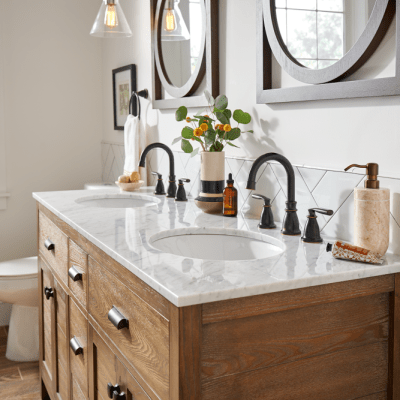 11 Attractive and Affordable Bronze Faucets for the Bathroom