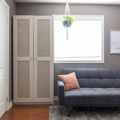 DIY Bookcase Doors