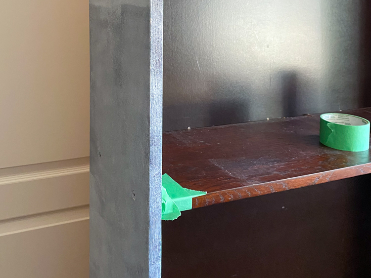 Paint the Ikea Billy bookcase