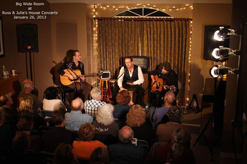 Russ  Julies House Concerts  Photos