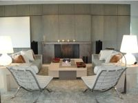 Creating Living Room Design With Chairs Only - House ...
