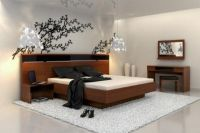 Japanese themed ideas to create a simple bedroom