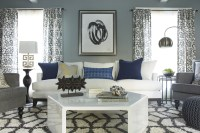 How to Reconcile Living Room Curtains and Rug Sets with ...