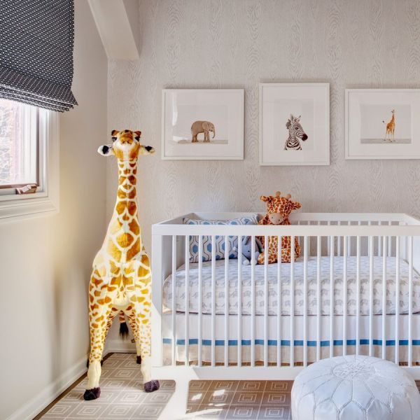 Giraffe Baby Nursery Room