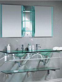 26 Lastest Bathroom With Glass Shelves | eyagci.com