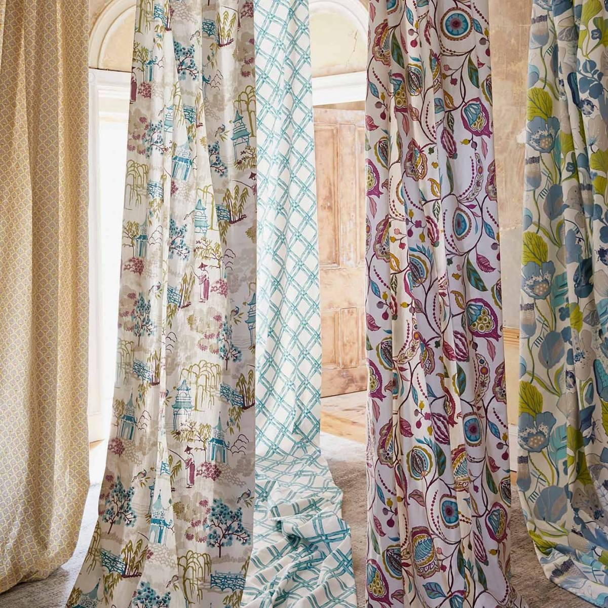 Kayo Fabric  Spice F128804  Clarke  Clarke Oriental