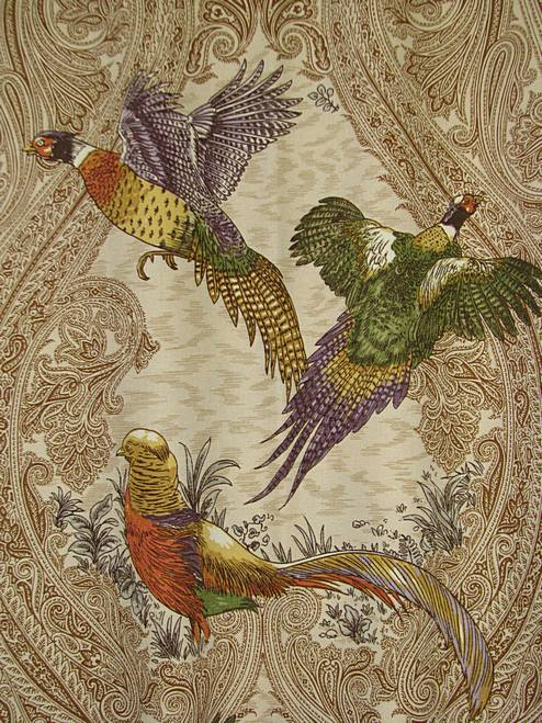 Game Birds Heritage  P Kaufmann Fabric
