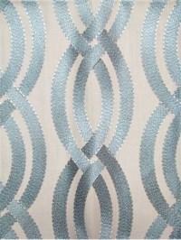 Winding Path Mist | Drapery Fabric