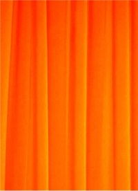 Neon Orange Chiffon Fabric