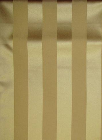 Victorian Gold Satin Stripe  Party Decorating Fabric