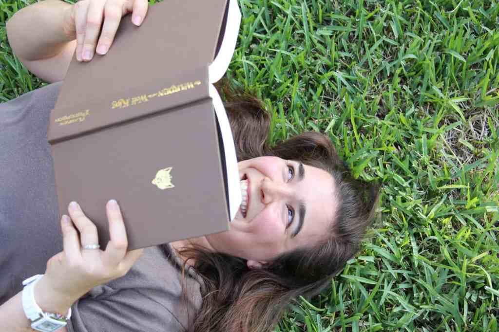 Carolyn reading