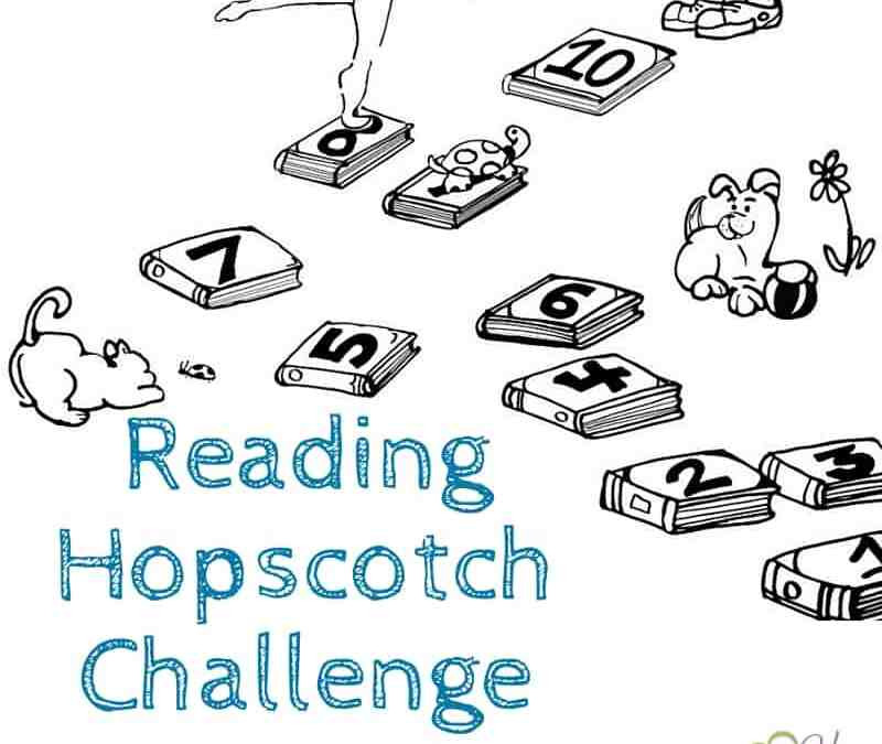 Reading Hopscotch Challenge: Fix That Reading Rut!