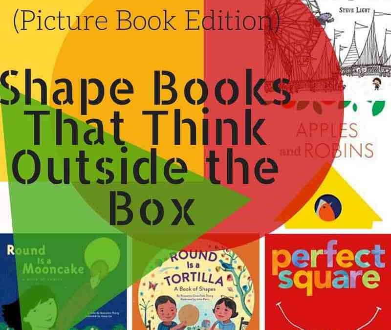 Shape Books that Think Outside the Box (Picture Book Edition)