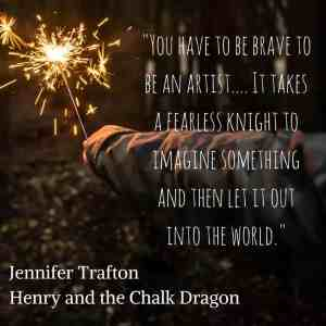 Henry and the Chalk Dragon Quote