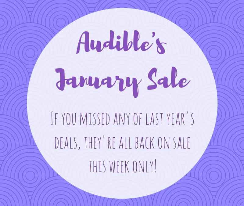 Audible Sale January 2018