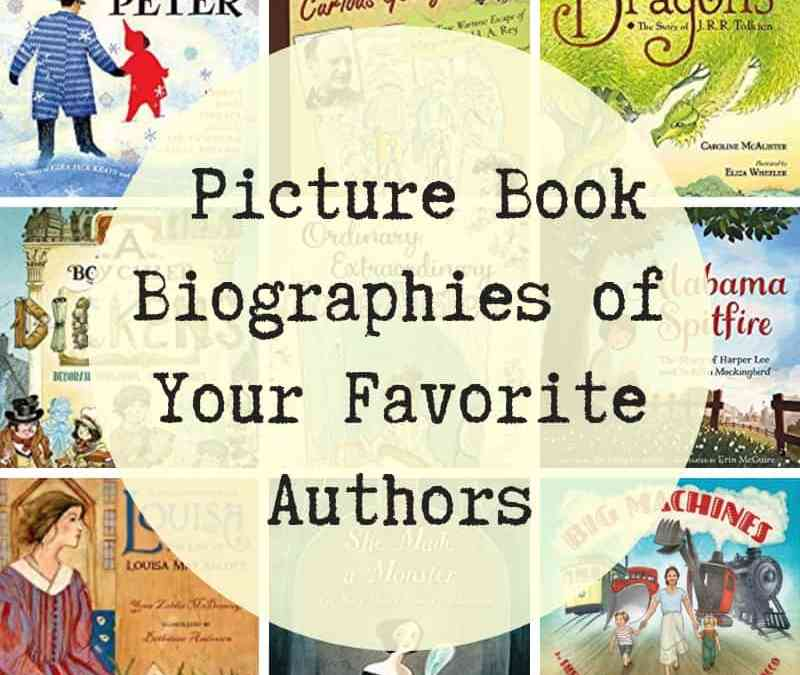 Picture book biographies of authors
