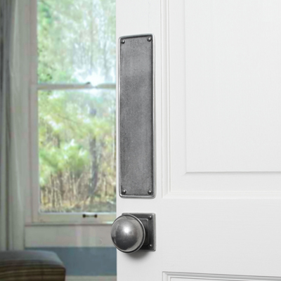 Ranges  Finesse Design  Pewter Door Finger Plate