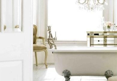 Vintage Glam Bathrooms